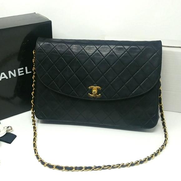 02b7bd3e87 CHANEL Bags | Rare Vintage Matelasse Classic Flap Bag | Poshmark